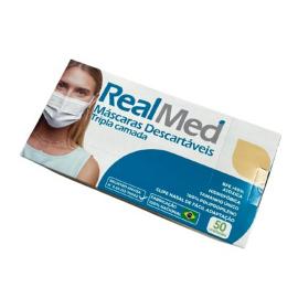 Imagem - Máscara Tripla Descartável - RealMed