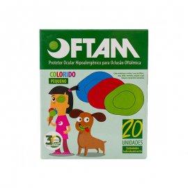 Imagem - Protetor Ocular - Oftam (Infantil - Colorido - P)