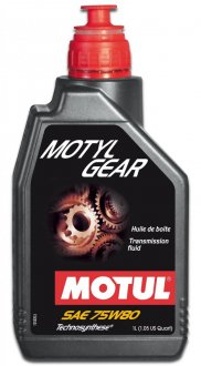 Imagem - Motyl Gear 75W80 - Óleo de Câmbio Motul  cód: 7416