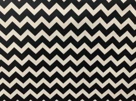 Imagem - Tecido Wall Decor Frequência Preto/Branco cód: 205613