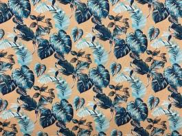 Imagem - Tecido Acquablock Costela de Adão Azul cód: 205566