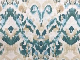 Imagem - Tecido Essence Tie Dye Verde cód: 205832