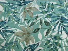 Imagem - Tecido Waterblock Estampa Floral Azul cód: 205883