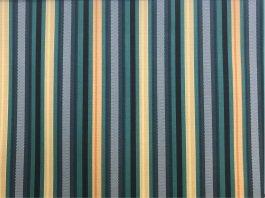 Imagem - Tecido WaterHavana Estampa Digital Listrado Azul/Amarelo cód: 205750