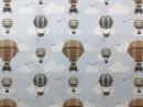 Tecido Wall-Decor Balonista