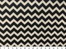 Tecido Wall Decor Frequência Preto/Branco 2