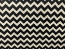 Tecido Wall Decor Frequência Preto/Branco