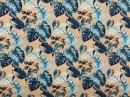 Tecido Acquablock Costela de Adão Azul