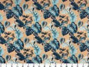 Tecido Acquablock Costela de Adão Azul 2