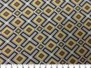 Tecido Belize Geométrico Amarelo 2