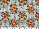 Tecido Acquablock Floresca Grid 2