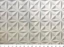 Tecido WaterHavana Estampa Digital Placas Efeito 3 D 2