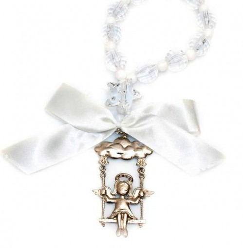 Medalhão de Berço ou Cama Anjo da Guarda
