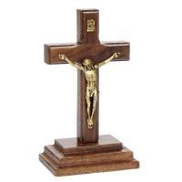 Pedestal em Madeira com Jesus