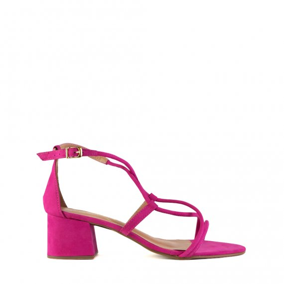 Sandalia Nobuck Pink