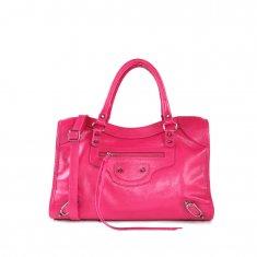 Imagem - Bolsa em Couro Shopper Pink