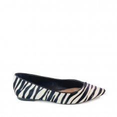 Imagem - Sapatilha Pelo Zebra/ Preto