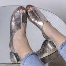 Peep Toe em Couro Cristal Onix 4