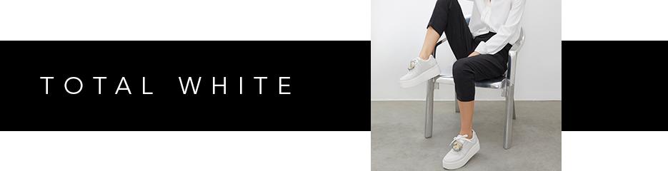 Vitrine Tendências - Total white