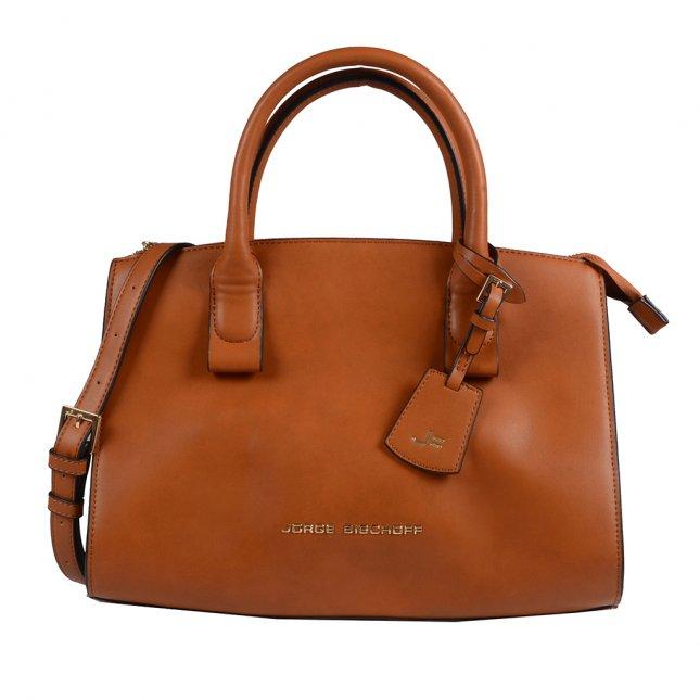 Bolsa Média Caramelo com Bag Charm
