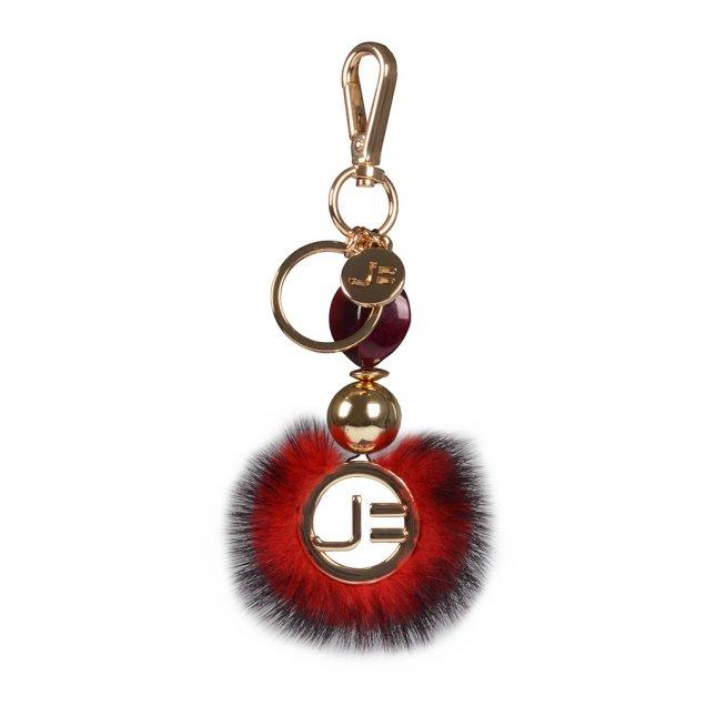 Bag Charm Mandala Pelo Vinho I20