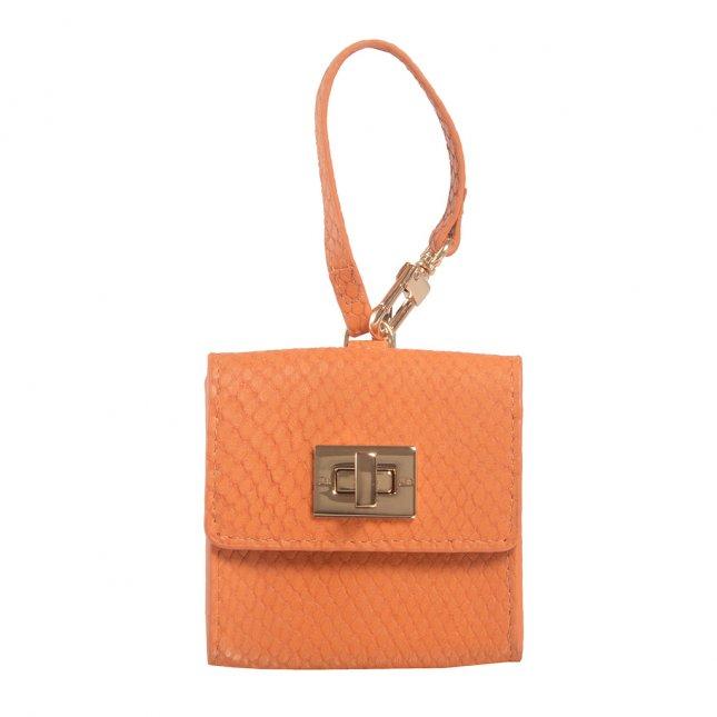 Bag Charm Porta-Moedas Snake Damasco V22