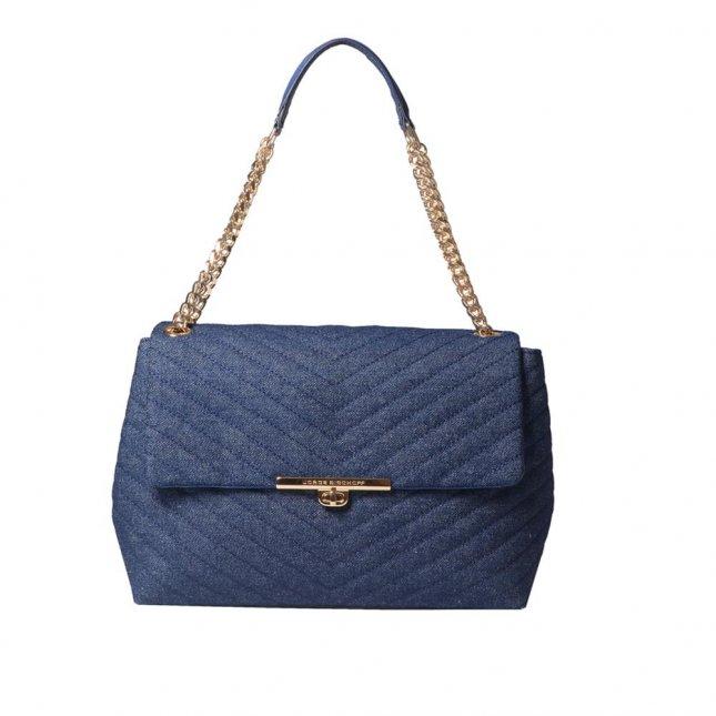 Bolsa Matelassê Azul Jeans V21
