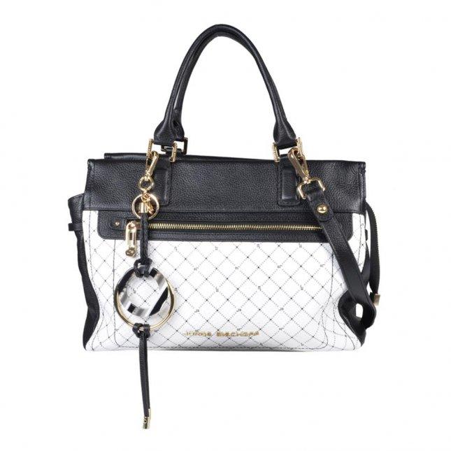 Bolsa Monograma P&B com Bag Charm V21