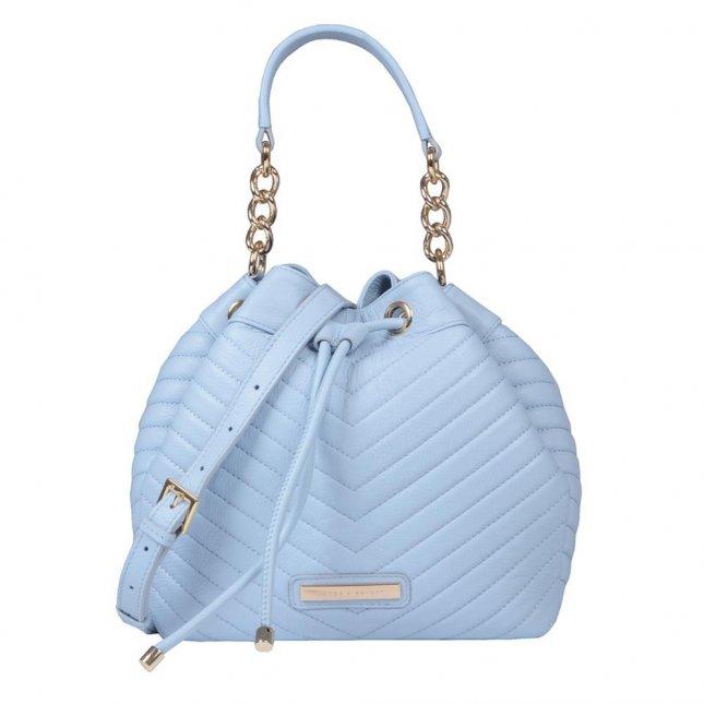 Bolsa Saco Matelassê Cotton Blue V21