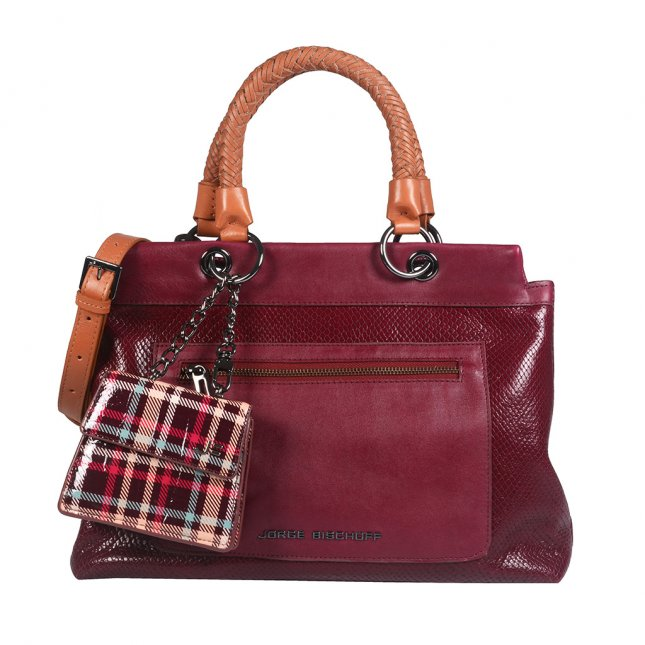 Bolsa Amarone com Micro Bag Xadrez I21