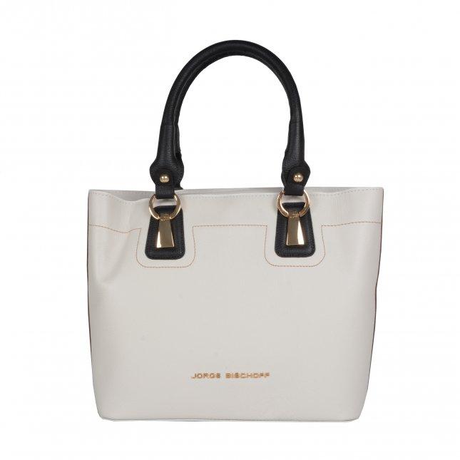 95717c3651 Bolsa sacola branca I19 - Jorge Bischoff Sapatos, bolsas e ...