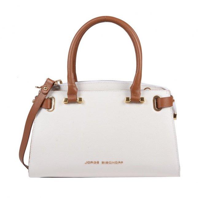129ed7359a Bolsa estruturada branca I19 - Jorge Bischoff Sapatos, bolsas e ...