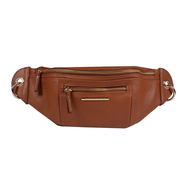Belt Bag em Couro Âmbar V20