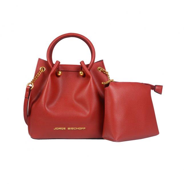 Bolsa Saco Vermelha com Nécessaire