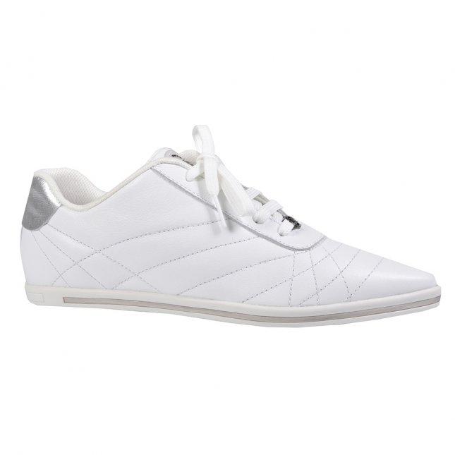 Tênis Casual Couro Branco V22