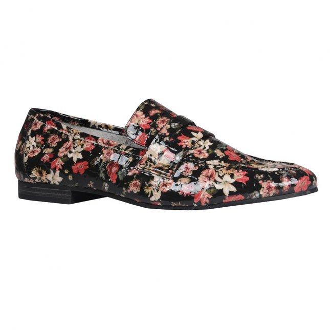 Loafer Couro Floral I20