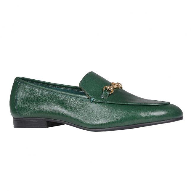 Loafer Couro Verde I20