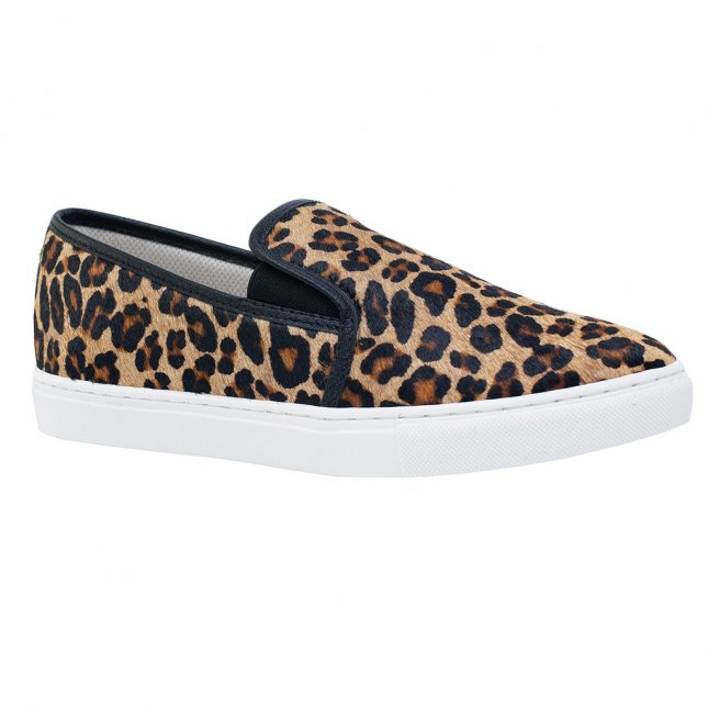Tênis Slip On Animal Print