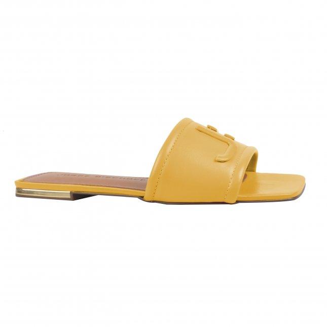 Rasteira em Couro Yellow V22
