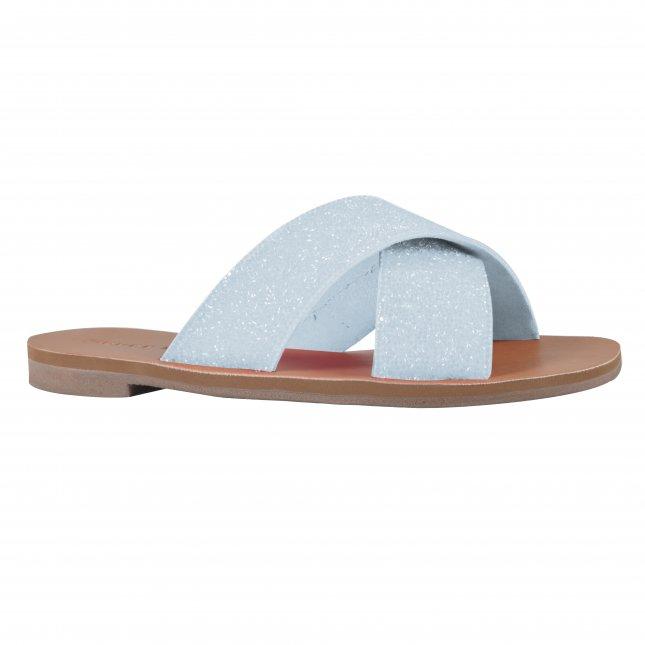 Rasteira Pedraria Azul V22