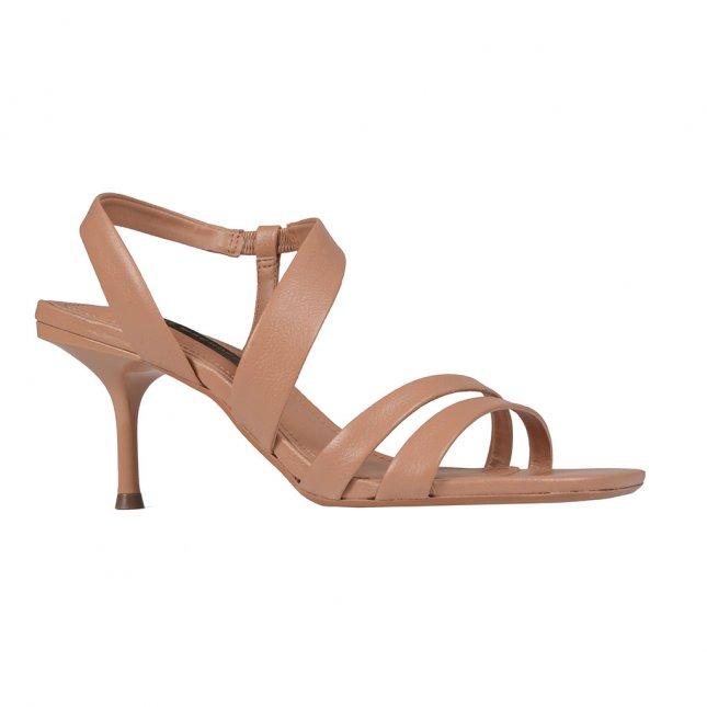 Sandália com Tiras Nude