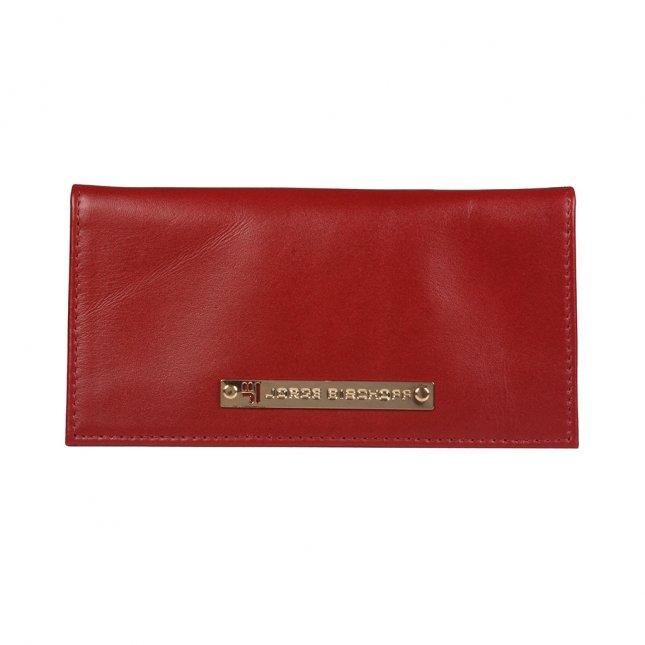 Carteira Porta-Cartão Dark Red I21