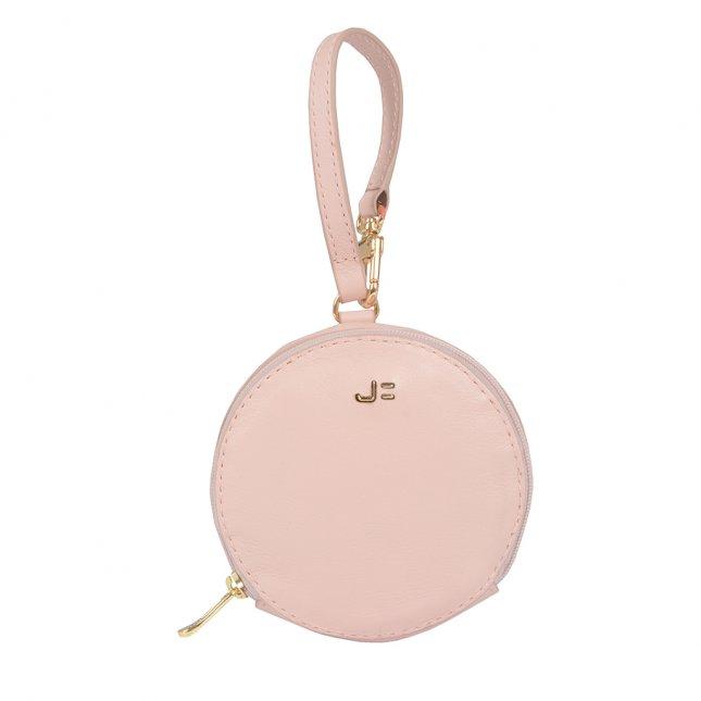 Bag Charm Porta-Moedas Redondo Light Rose I21