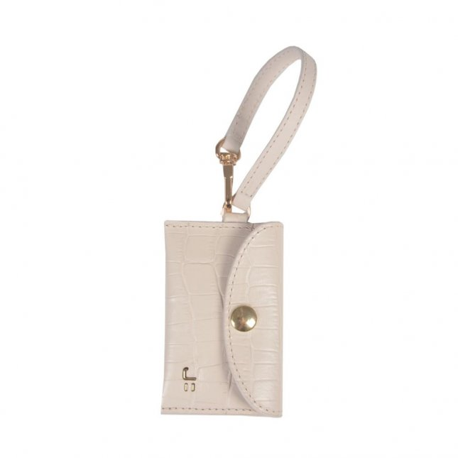 Bag Charm Porta-Moedas Off White I21