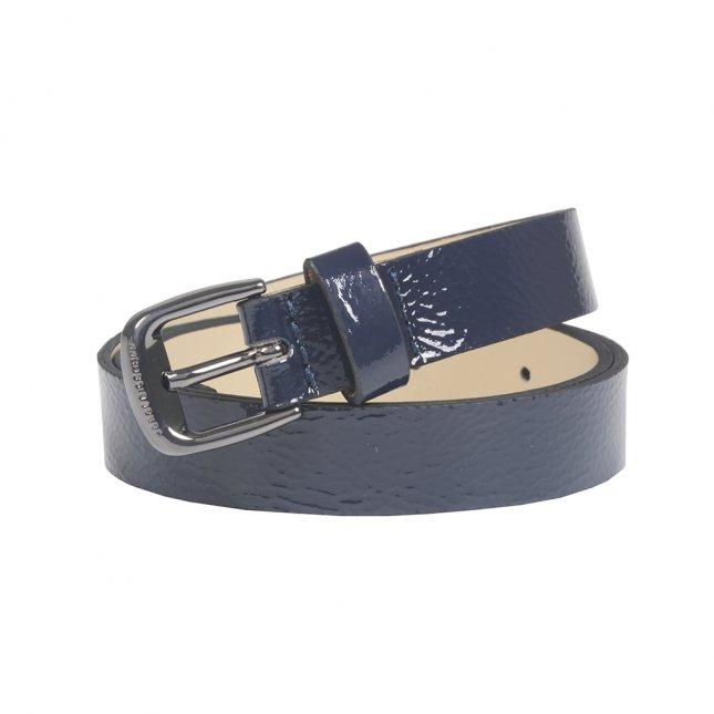 Cinto Cintura Azul Marinho Verniz I21