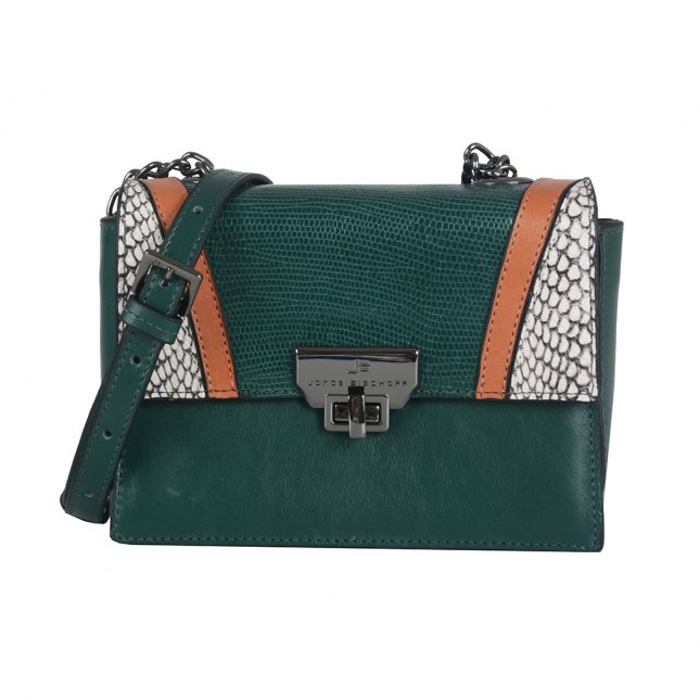 Clutch Tiracolo Forest em Couro I21