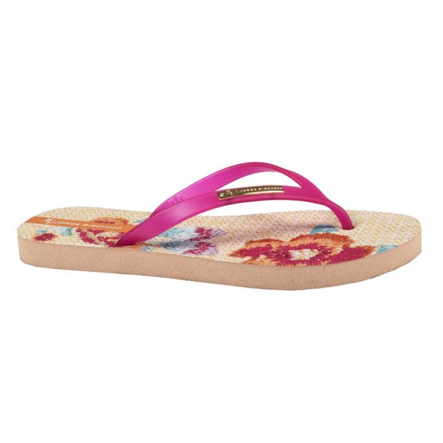Holiday Flat Pink Floral I20