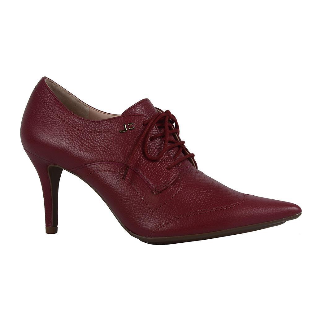 Ankle boot vinho