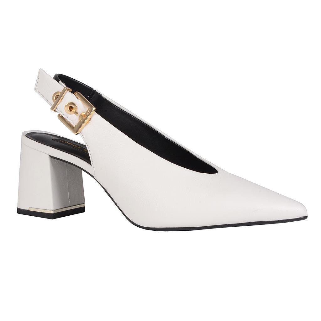 8a03018a62 Slingback branca I19 - Jorge Bischoff Sapatos, bolsas e acessórios ...