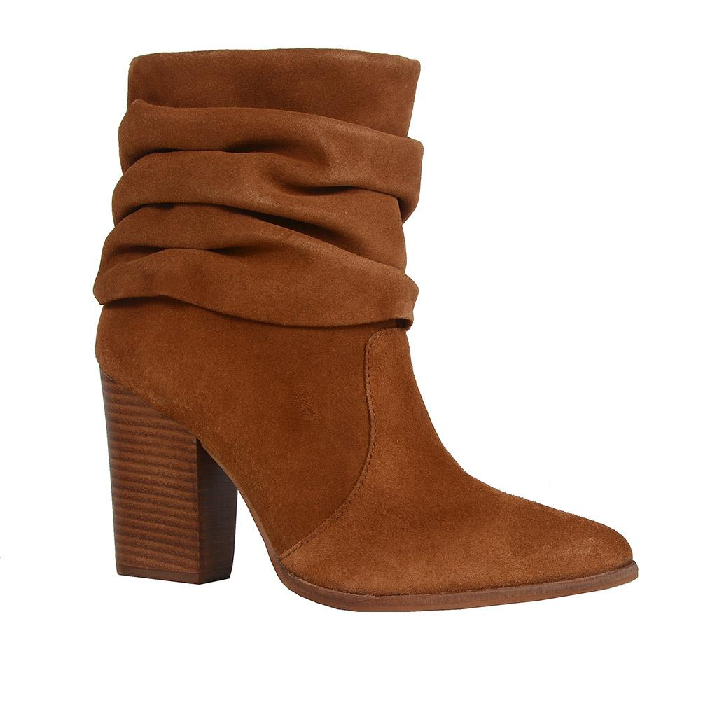 Bota caramelo slouch boot
